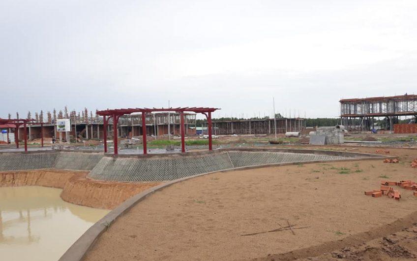 Mở bán đất nền giá rẻ, Mặt tiền đường Vành Đai 4. Chỉ  thanh toán 35% nhận nền xây dựng. XTD.SHR.